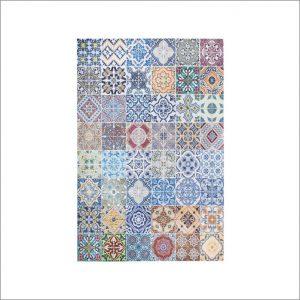 Angela Pinheiro Carpete Azulejos Cores