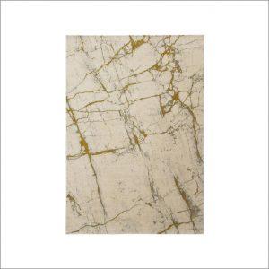 Angela Pinheiro Carpete Marmore Dourado
