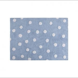Angela Pinheiro Carpete Lorena Polka Dots Azul