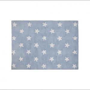 Angela Pinheiro Carpete Lorena Starts Blue White