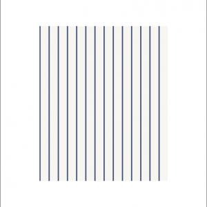 Angela Pinheiro Papel Parede Sand Berg Scandinavian Stripes Risca Azul Pormenor