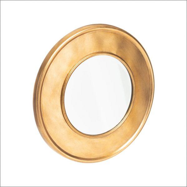 Espelho Dourado Redondo Angela Pinheiro