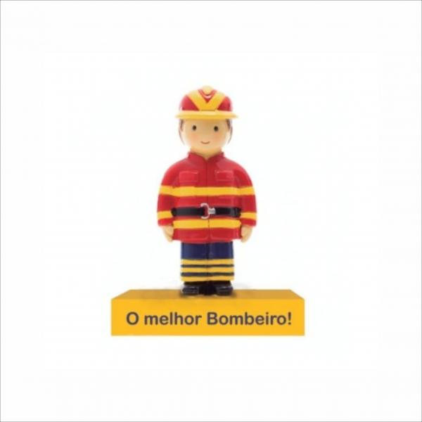 Bonecos Profissões O Melhor Bombeiro Angela Pinheiro