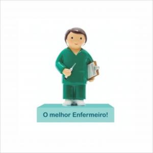 Bonecos Profissões O Melhor Enfermeiro Angela Pinheiro