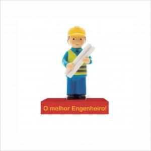 Bonecos Profissões O Melhor Engenheiro Angela Pinheiro