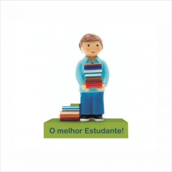 Bonecos Profissões O Melhor Estudante Angela Pinheiro