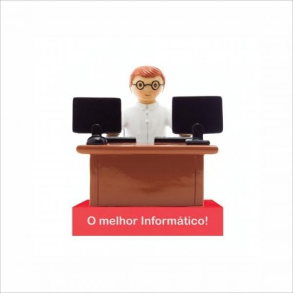 Bonecos Profissões O Melhor Informático Angela Pinheiro