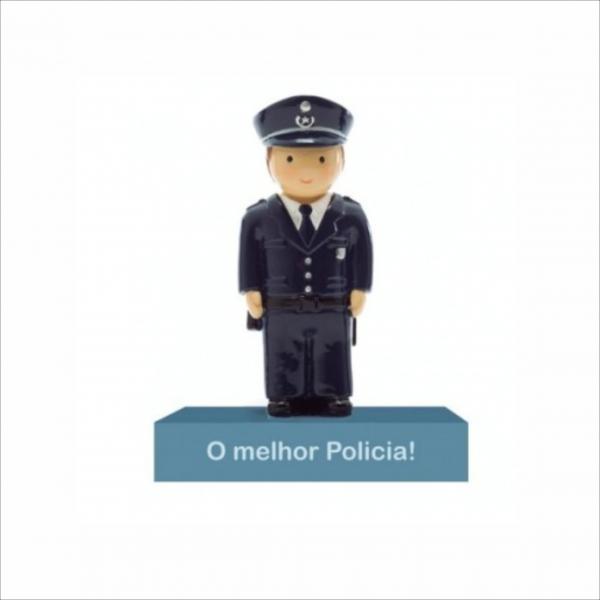 Bonecos Profissões O Melhor Policia Angela Pinheiro