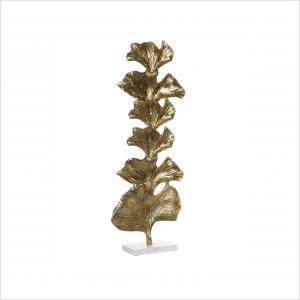 Decoração Aluminio Marmore Folha Dourada Angela Pinheiro